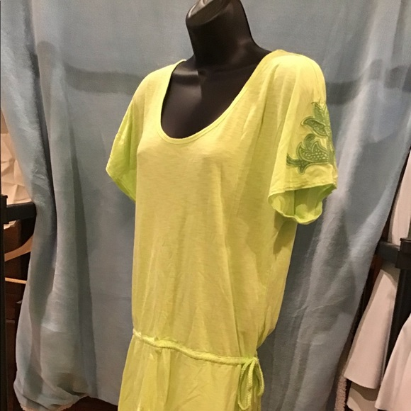 d592de829de Athleta Swim | Athlete Cupcasual Dress Green Euc5100 | Poshmark